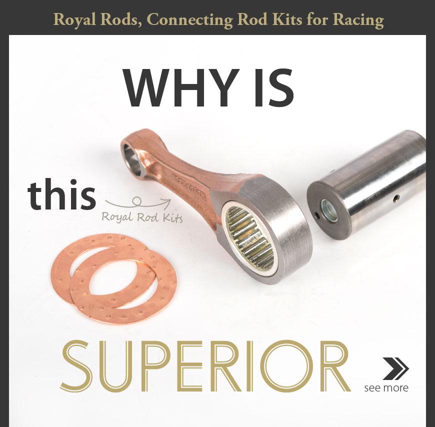 KiWAV Royal Rods RH-1223 connecting rod for Honda CRF450R '17-'20