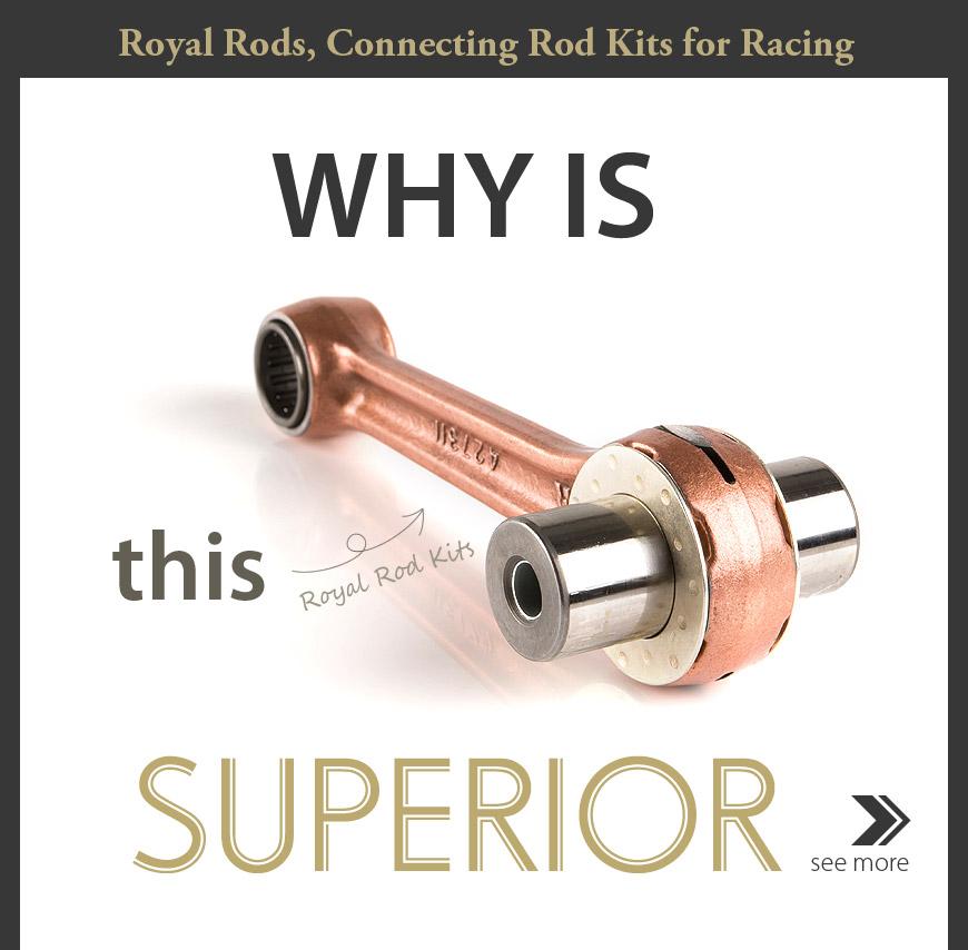 Royal Rods connecting rod kit racing for Yamaha YZ250 99-01