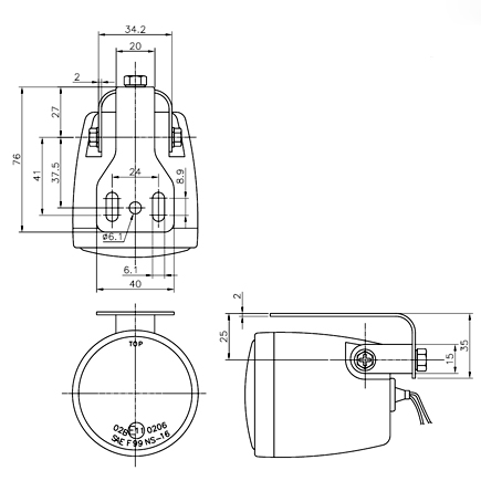 NS-16 Fog Lamp