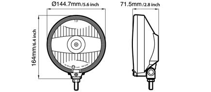 NS-2140 Driving Lamp