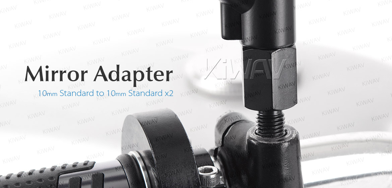 KiWAV 10mm to 10mm standard converter screws