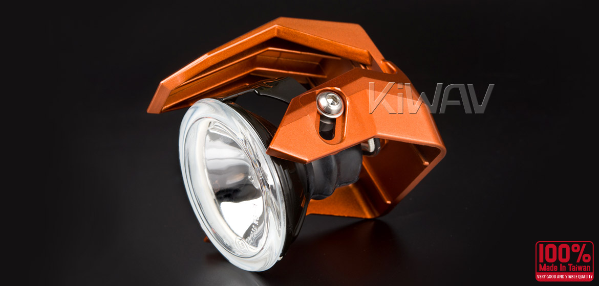 Magazi NS-41 round fog auxiliary light orange