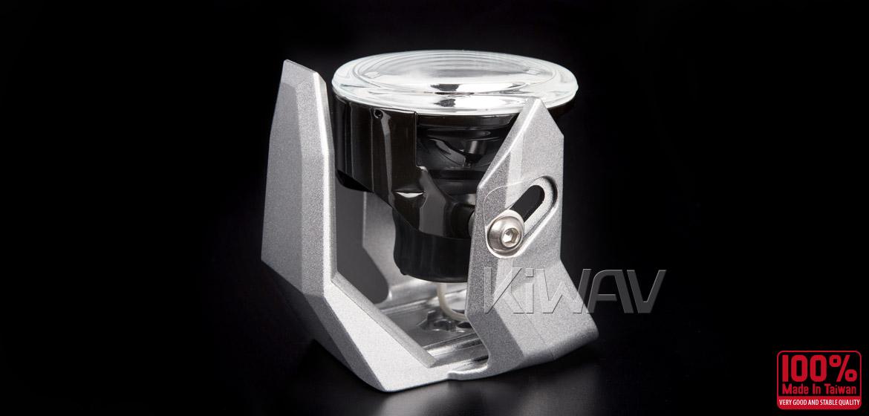 Magazi NS-41 round fog auxiliary light silver