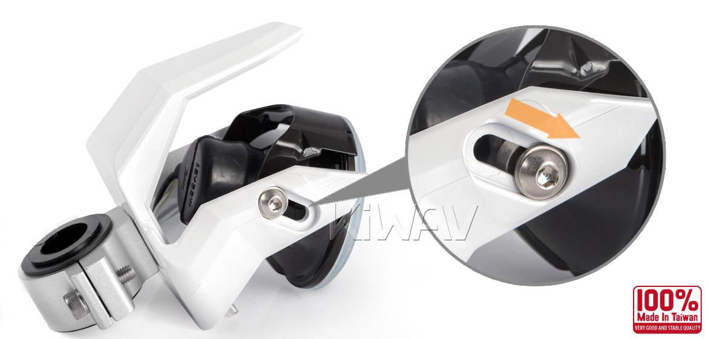 Magazi NS-41 round fog auxiliary light white