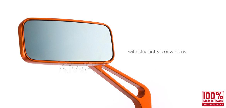 KiWAV Magazi Classic motorcycle mirrors