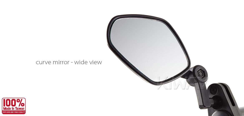 KiWAV Petal Mirrors for bicycle