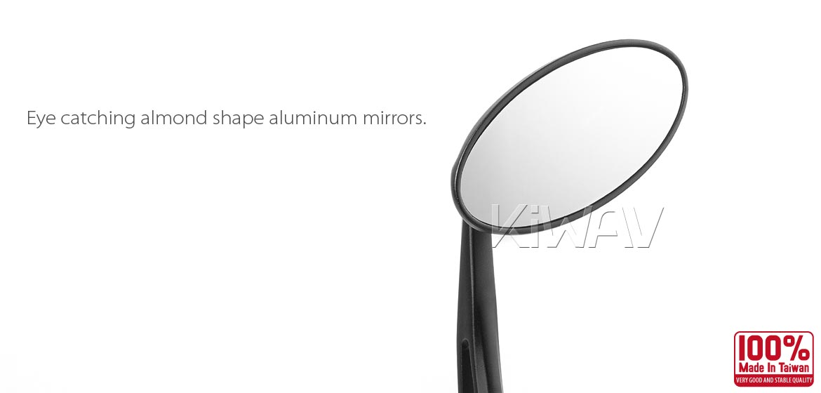 Ultra Black Aluminum Bar End Mirrors 1 Quot Or 7 8 Quot For Bobber