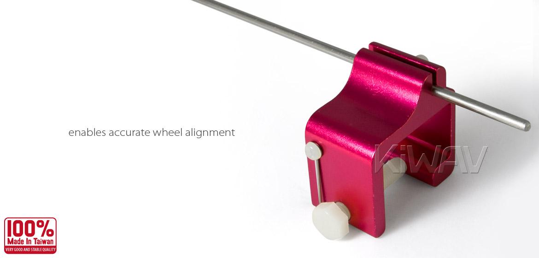 KiWAV motorcycle chain alignment tool