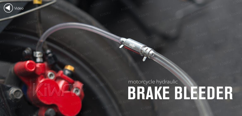 KiWAV motorcycle hydraulic brake clutch bleeder