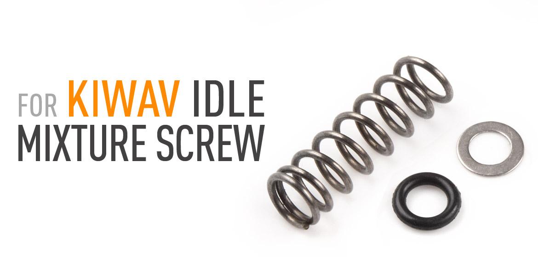 KiWAV Carburetor idle mixture screw kits