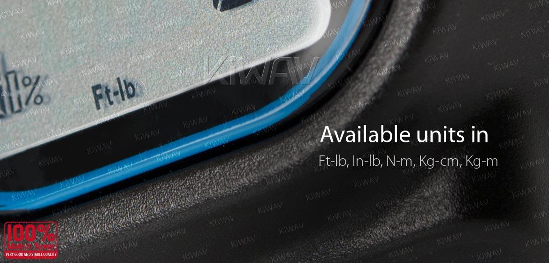 KiWAV digital torque adapter for 1/2 inch drive