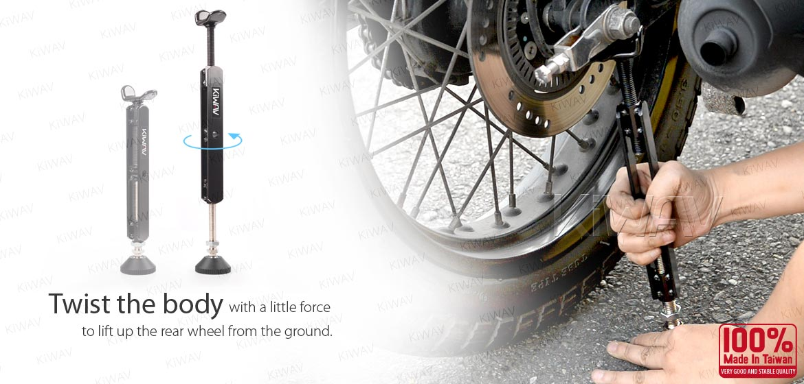 KiWAV motorcycle portable easy lift up stand