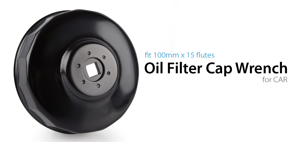 oil filter cap wrench 100mm 15 flutes