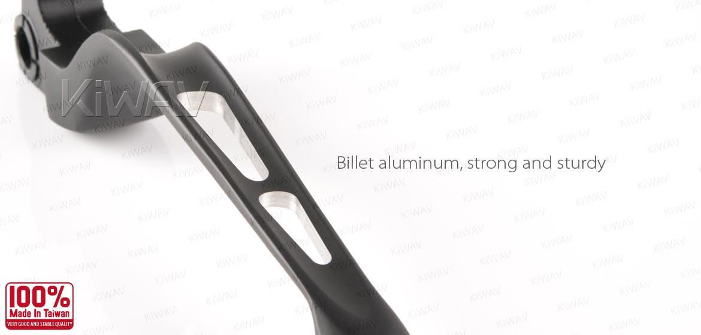 CNC aluminum matte black lever kit 10205 for /'06 Street Bob EFI FXDBI USA STOCK