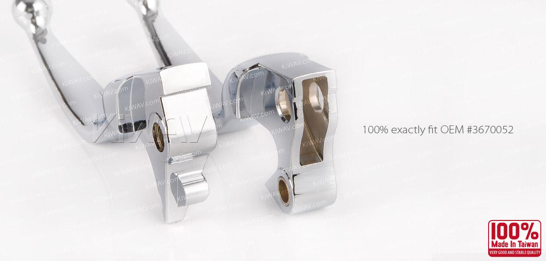 KiWAV brake clutch lever chrome harley davidson 2015~2014 sportster