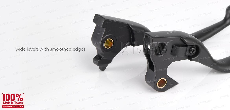 KiWAV brake clutch lever black harley davidson 2015~2014 sportster