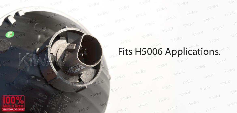 KiWAV 5-3/4 inch HB5 65/55W SAE headlight lens unit
