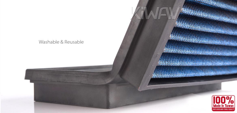 KiWAV Magazi Air Filter for Ducati M750 Monster 96, 99-01, Monster400 02-03