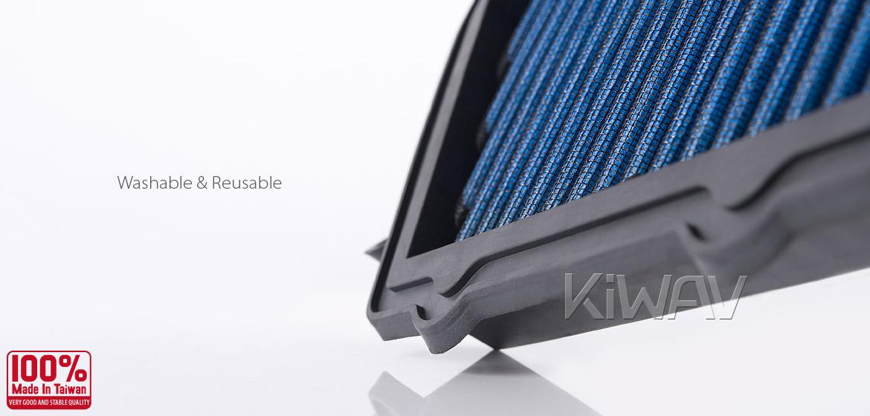 KiWAV Magazi Air Filter for Honda CBR1000RR 08-13, CBR1000RR ABS 2010