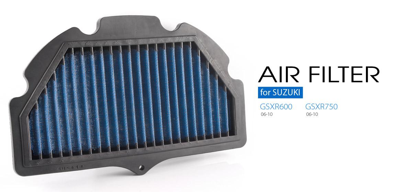 KiWAV Magazi Air Filter for Suzuki GSXR750 04-05, GSXR600 04-05