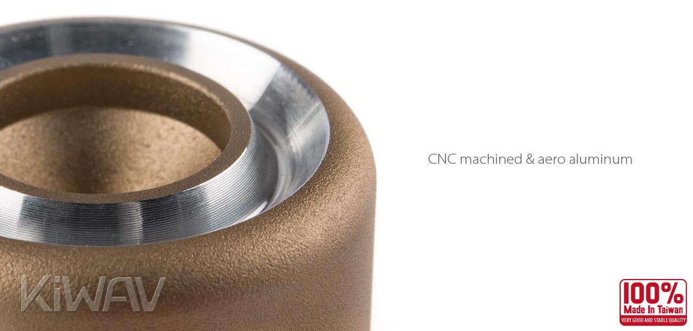 Magazi motorcycle titanium CNC aluminum bar ends rubber mount universal fit 7/8inch 1inch handlebar-03