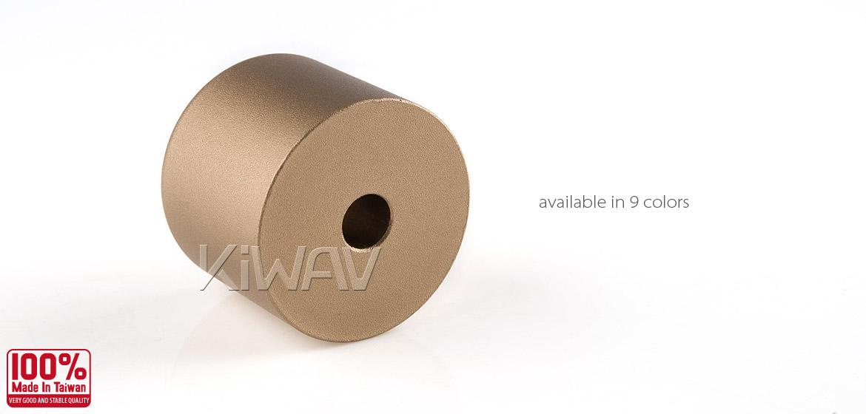 Magazi motorcycle titanium CNC aluminum bar ends rubber mount universal fit 7/8inch 1inch handlebar-05
