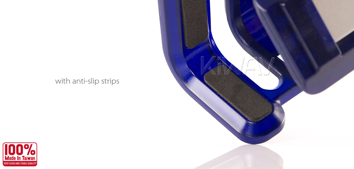 Magazi Motorcycle blue Drink Holder for Motorcycle ATV Scooter blue