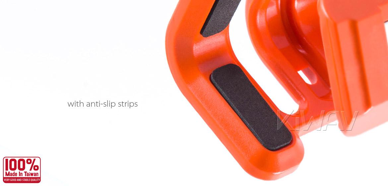 Magazi Motorcycle orange Drink Holder for Motorcycle ATV Scooter orange