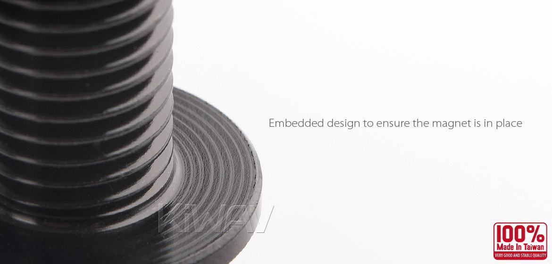 Magazi anodized black aluminum magnetic oil drain bolt plug M12 x P1.25 for road bike Suzuki-04