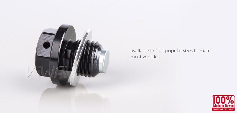 Magazi oil drain plug black M14 x P1.50 fit HONDA, MAZDA, SUZUKI, MITSUBISHI