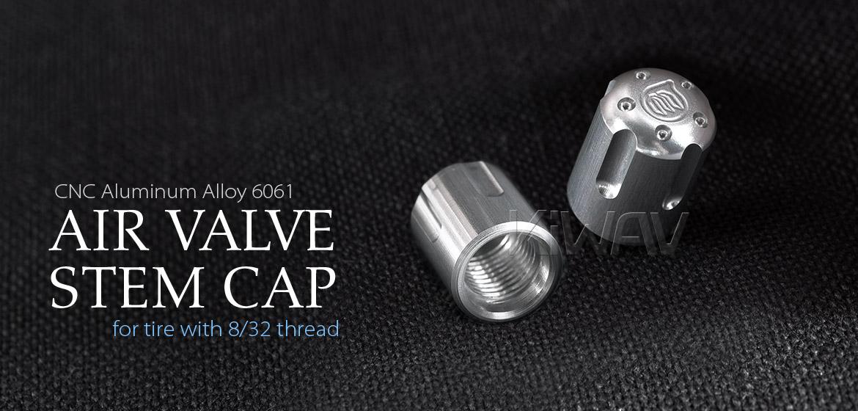 VAWiK Vespa CNC Anodizing Aluminum Alloy 6061 air valve stem cap