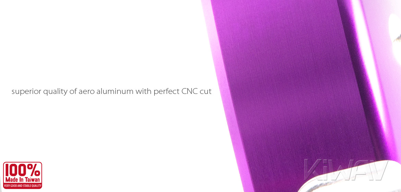 VAWiK Vespa CNC Anodizing Aluminum Alloy 6061 Gasoline Cap purple