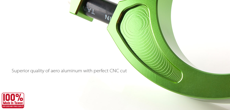 VAWiK CNC Aluminum stabilizer bar swingarm stable bracket for Vespa LX/LXV/S 125/S 150/ET4 Green