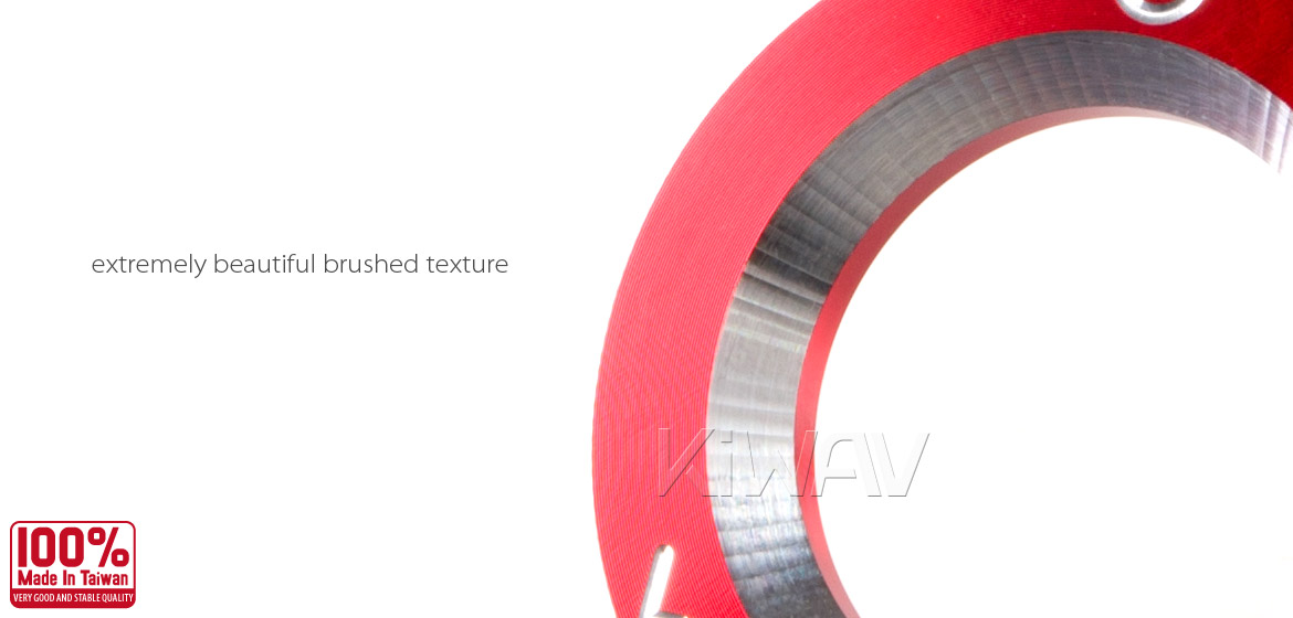 VAWiK CNC Anodizing Aluminum Alloy 6061 steering lock trim for Vespa LX S ET4 GTS GTV red