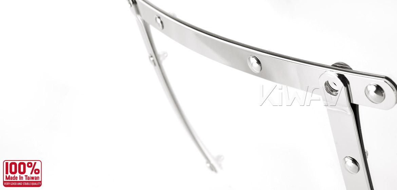 KiWAV Windshield for Harley Davidson Sportster Dyna Glide Softail
