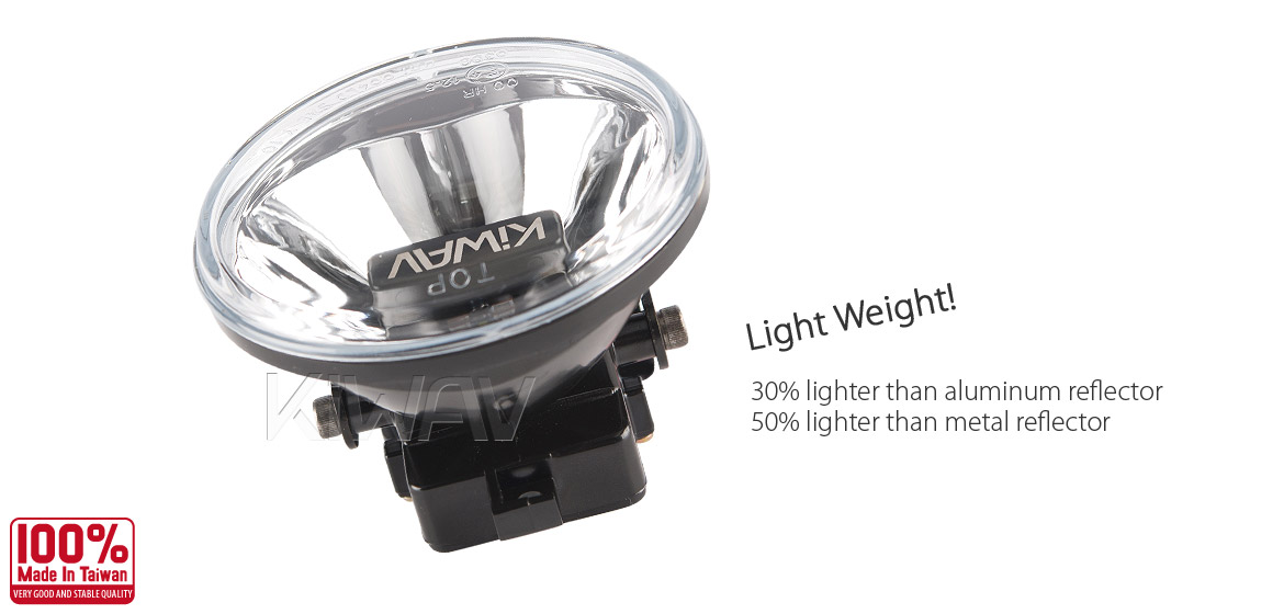 KiWAV 4 inch super bright magnesium alloy LED driving lamp