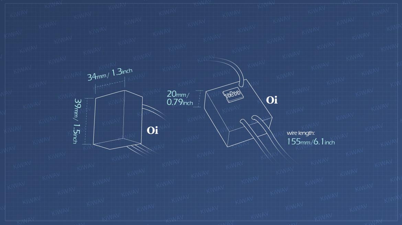 Measurement of new generation light Oi flash controller