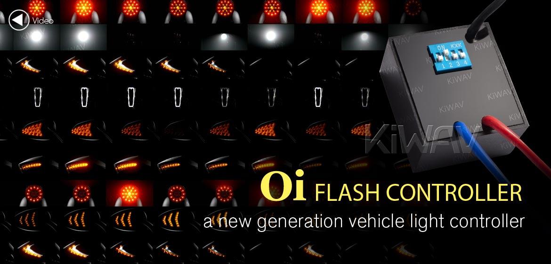 KiWAV new generation light Oi flash controller