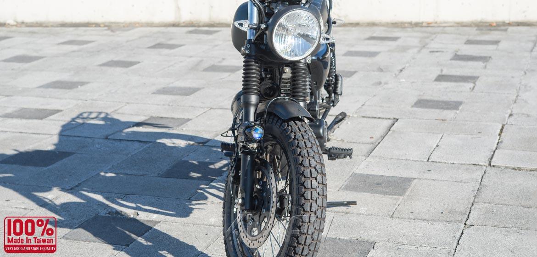 KiWAV motorcycle 12V 55W fisheye round fog light
