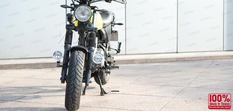 KiWAV motorcycle 3.4 inches 12V 55W round fog lights