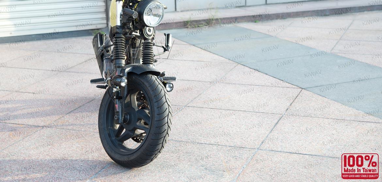 KiWAV motorcycle 1.9 inches 12V 55W fisheye fog fog lights
