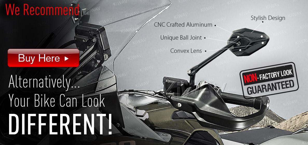 KiWAV upgrade OEM mirrors FB277-5 to ViperII BMW mirror series