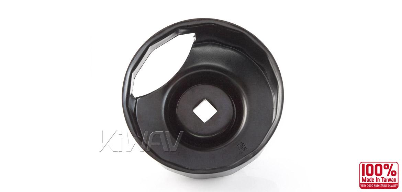 Oil Filter Cap Wrench for Harley Davidson with 76 x 14 flutes (crank sensor)