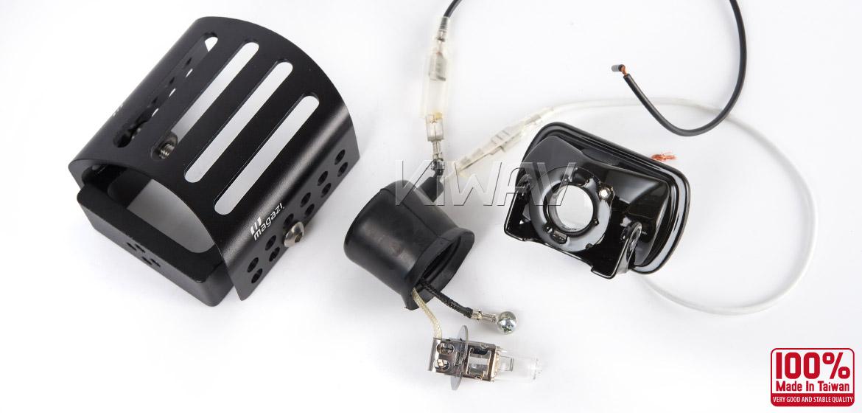 MG-7021 Square Fog Light Black Magazi