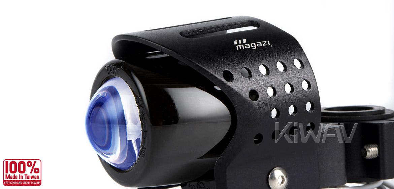 Magazi Round fisheye black fog auxiliary light