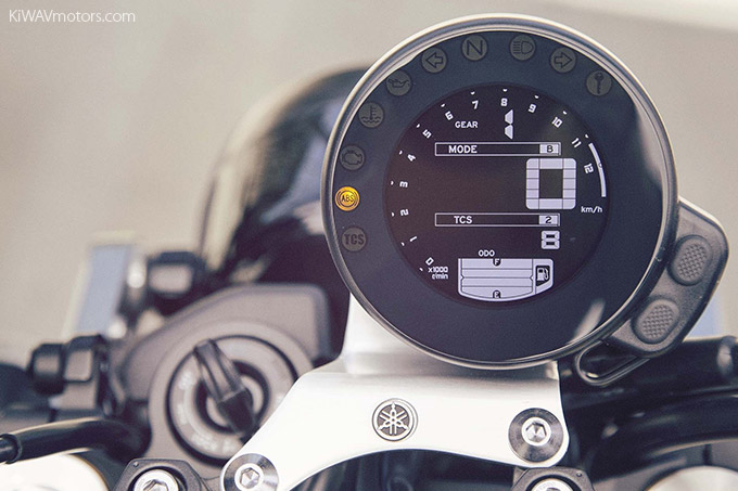 Yamaha XSR900 Digital Tachometer And Speedometer